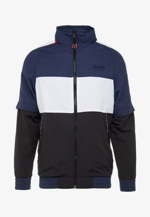 MENS ZIP OFF TRACK JACKET - Veste de survêtement - navy/black