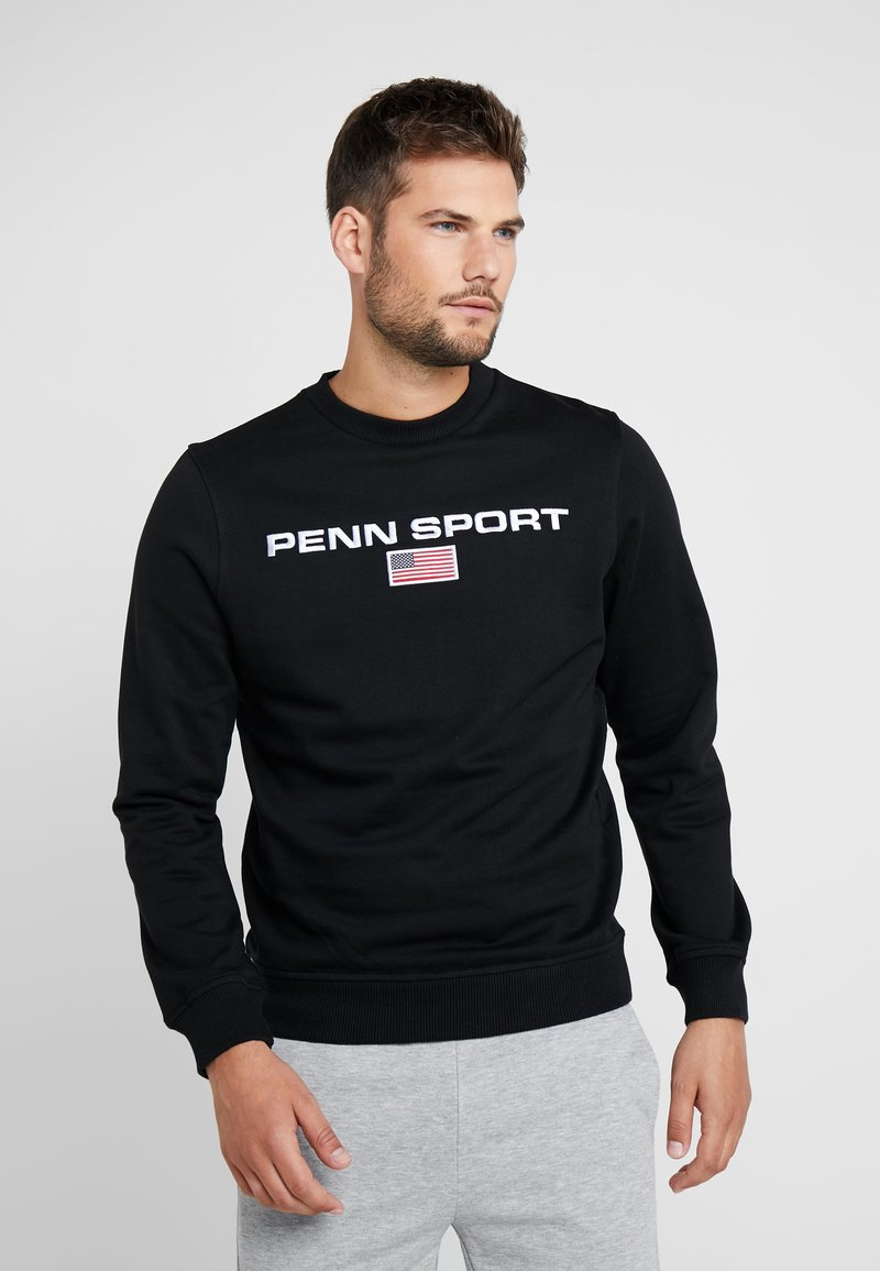 Penn - MENS CORE CREW - Sweatshirt - black