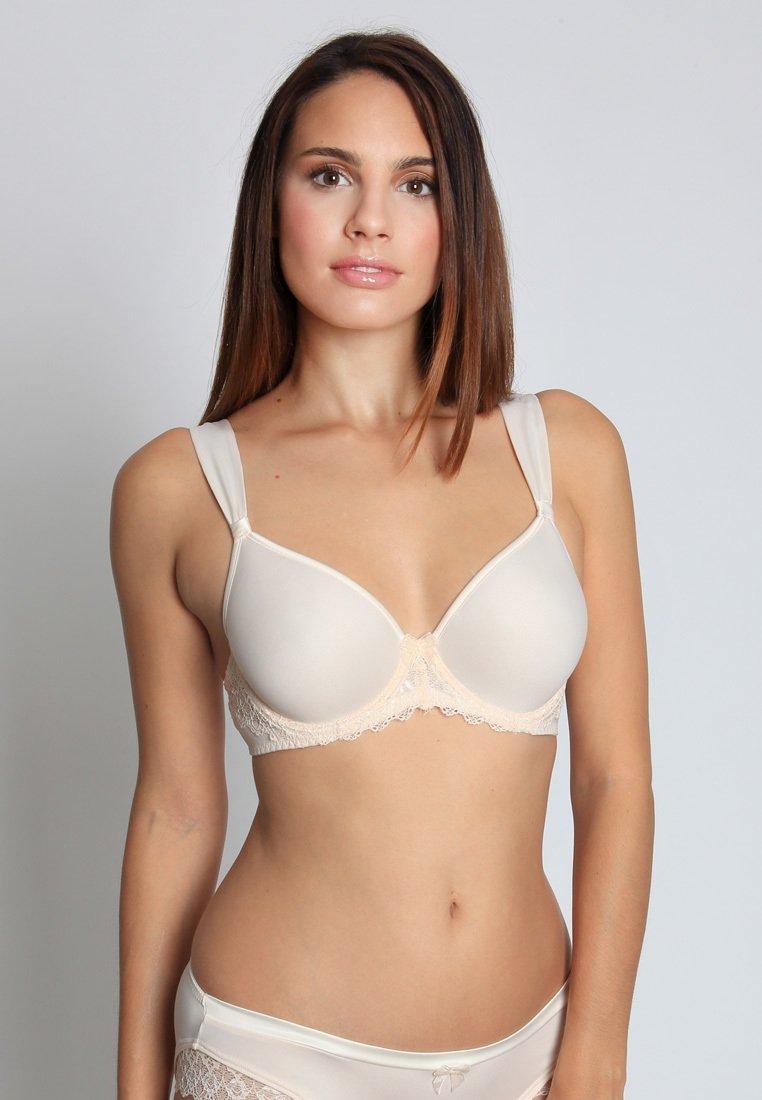 Sassa - SHINY SATIN - T-shirt bra - pearl