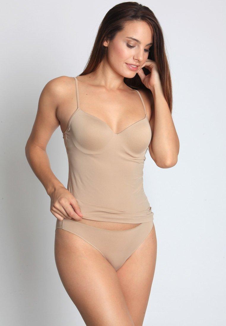 Sassa - CLASSIC MICRO - Undershirt - beige