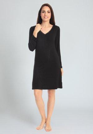 CASUAL COMFORT - Nachthemd - black