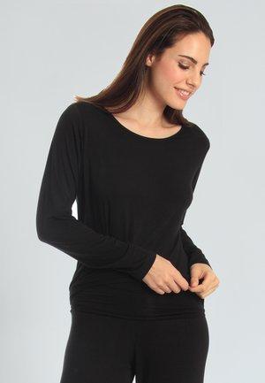CASUAL COMFORT - Nachtwäsche Shirt - black