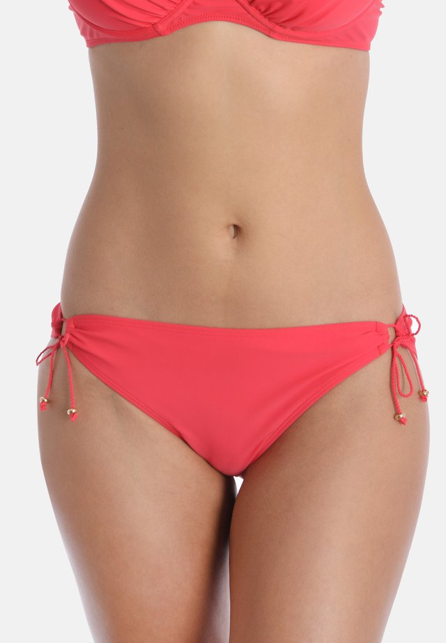 SWEET CORAL - Bikini bottoms - coral red