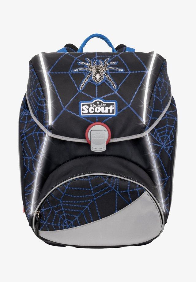 SET - School bag - dark spider