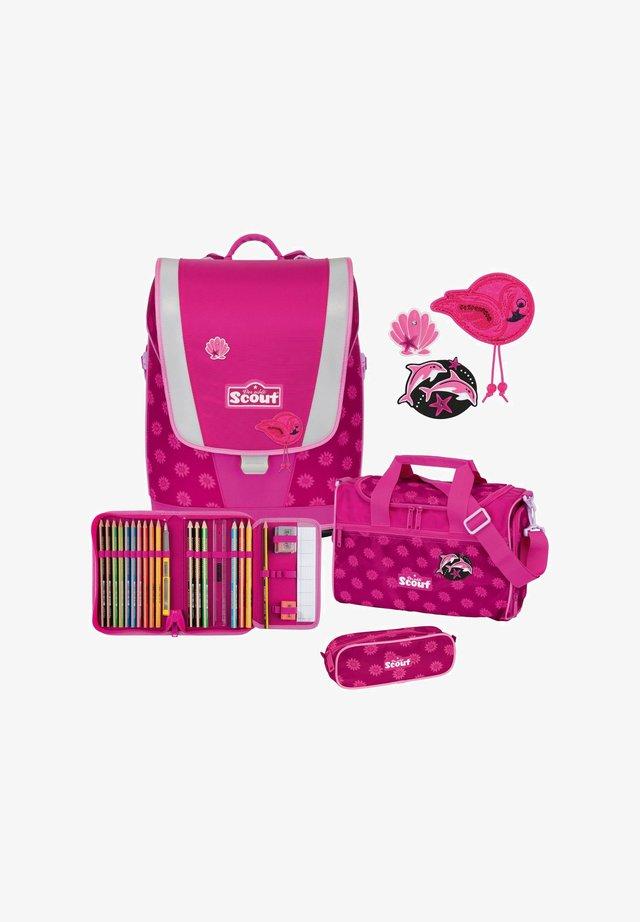 ULTRA SET 4-TEILIG - School set - pink daisy