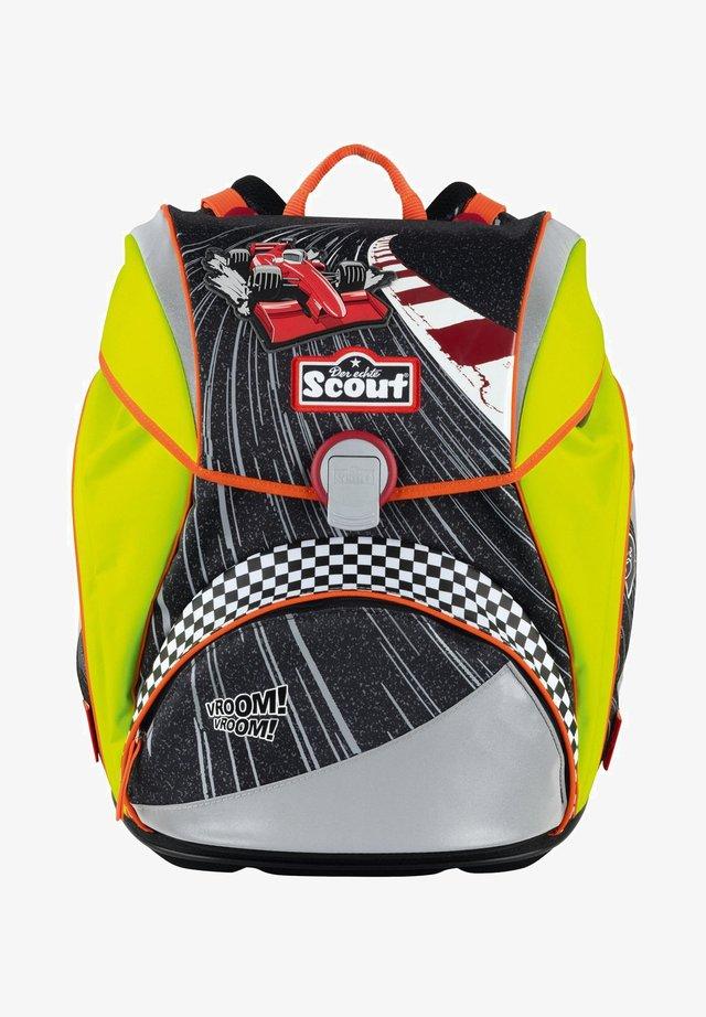 ALPHA SET - School set - red racer