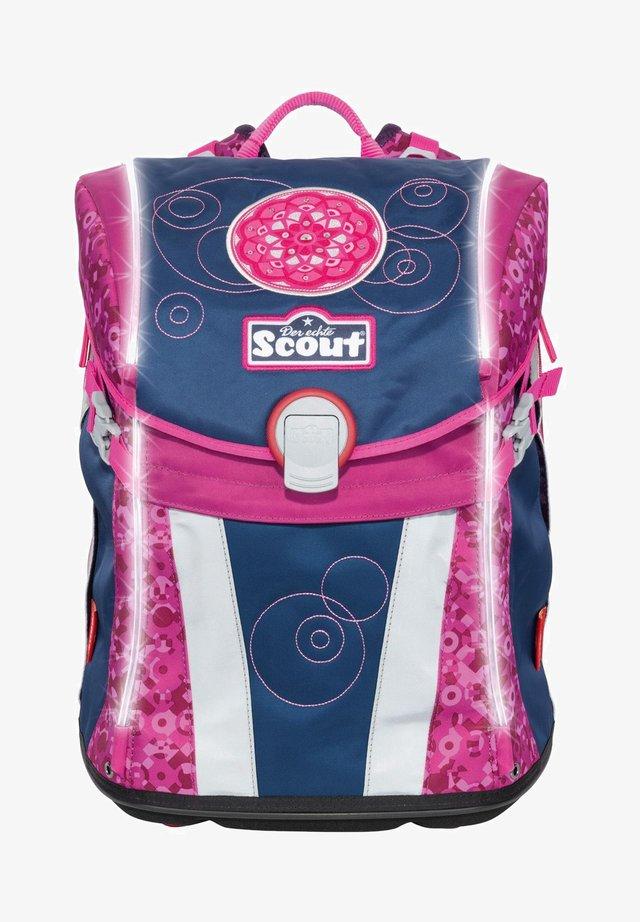 SAFETY LIGHT SUNNY SET  - School set - pink mandala
