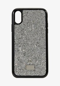 Swarovski - GLAM ROCK CASE - Kännykkäpussi - silver-coloured