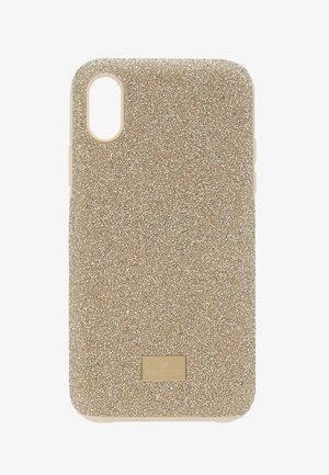 HIGH IPHONE X/XS  CASE - Telefoonhoesje - gold-coloured
