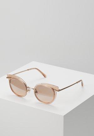 Sonnenbrille - rose gold-coloured/transparent