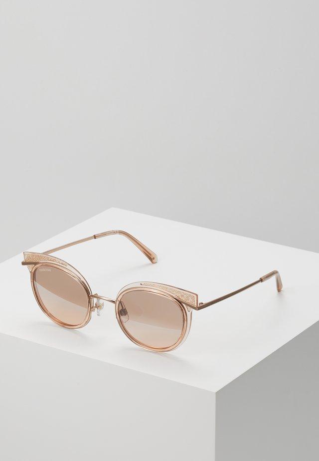 Sunglasses - rose gold-coloured/transparent
