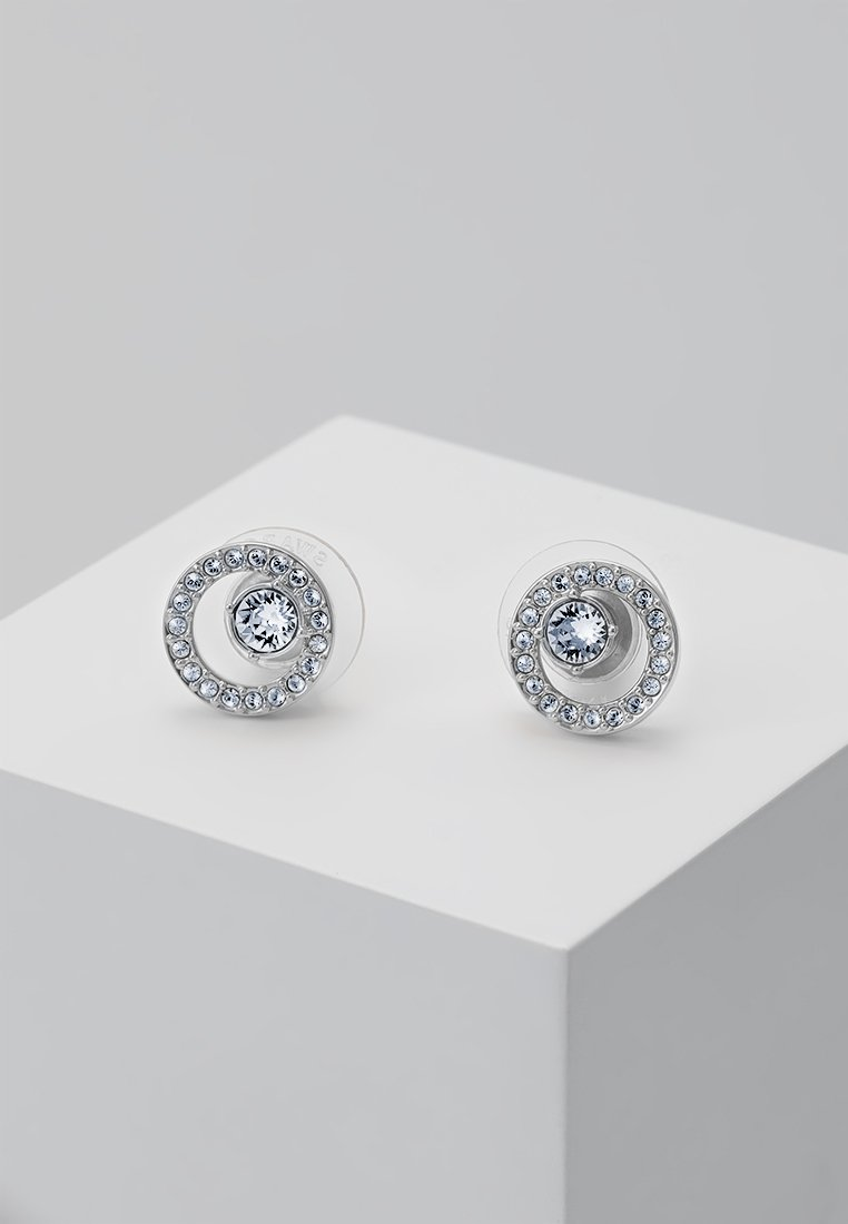Swarovski - CREATIVITY SMALL - Earrings - silver-coloured