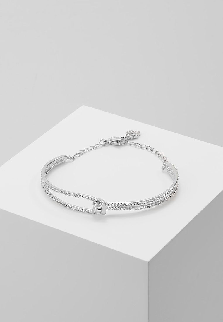 Swarovski - LIFELONG BANGLE  - Bracelet - silver-coloured