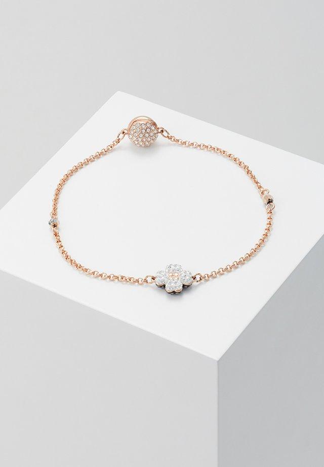 REMIX STRAND CLOVER  - Armband - rose gold-coloured