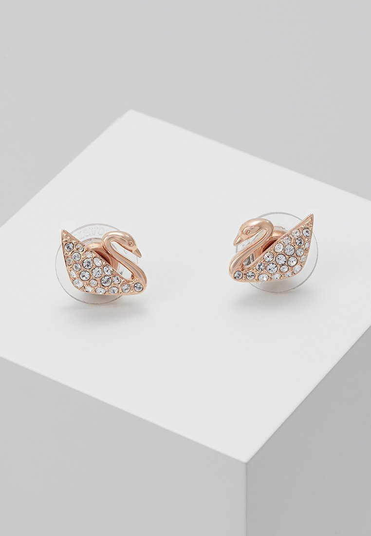 Swarovski - SWAN MINI  - Earrings - rosegold-coloured