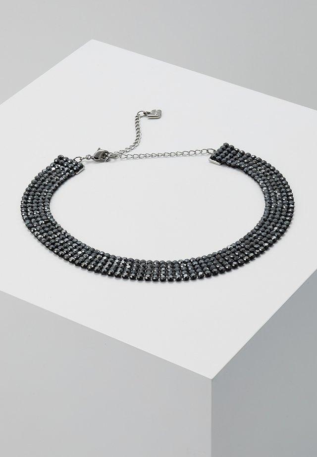 FIT NECKLACE CHOKER JET  - Halskette - black