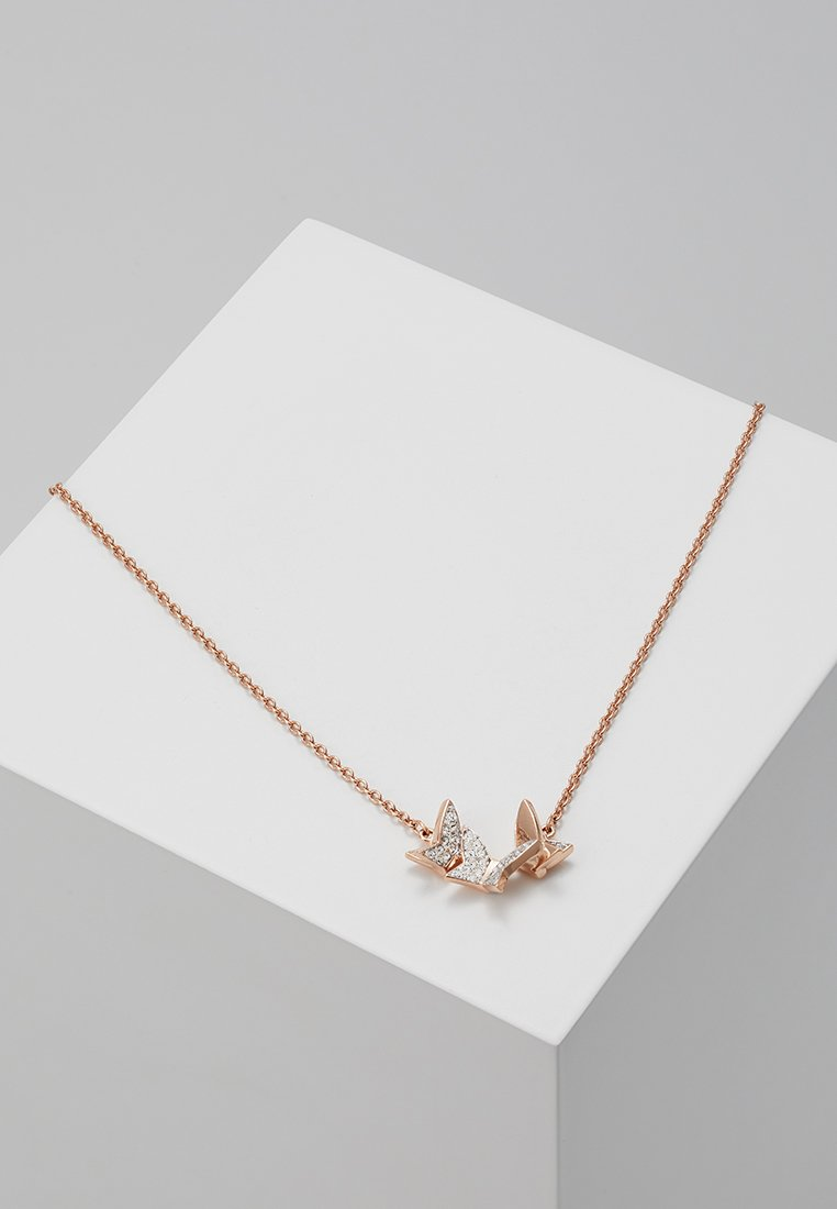 Swarovski - LILIA NECKLACE - Necklace - rosegold-coloured