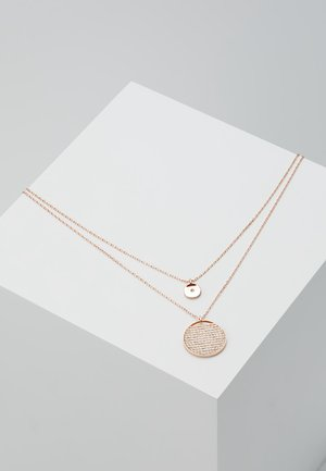 GINGER PENDANT LAYER  - Naszyjnik - rosegold-coloured