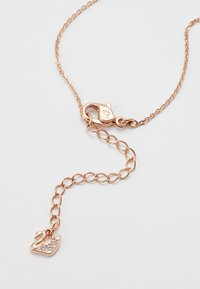 Swarovski - ICONIC SWAN PENDANT - Ketting - rosegold-coloured/black - 2