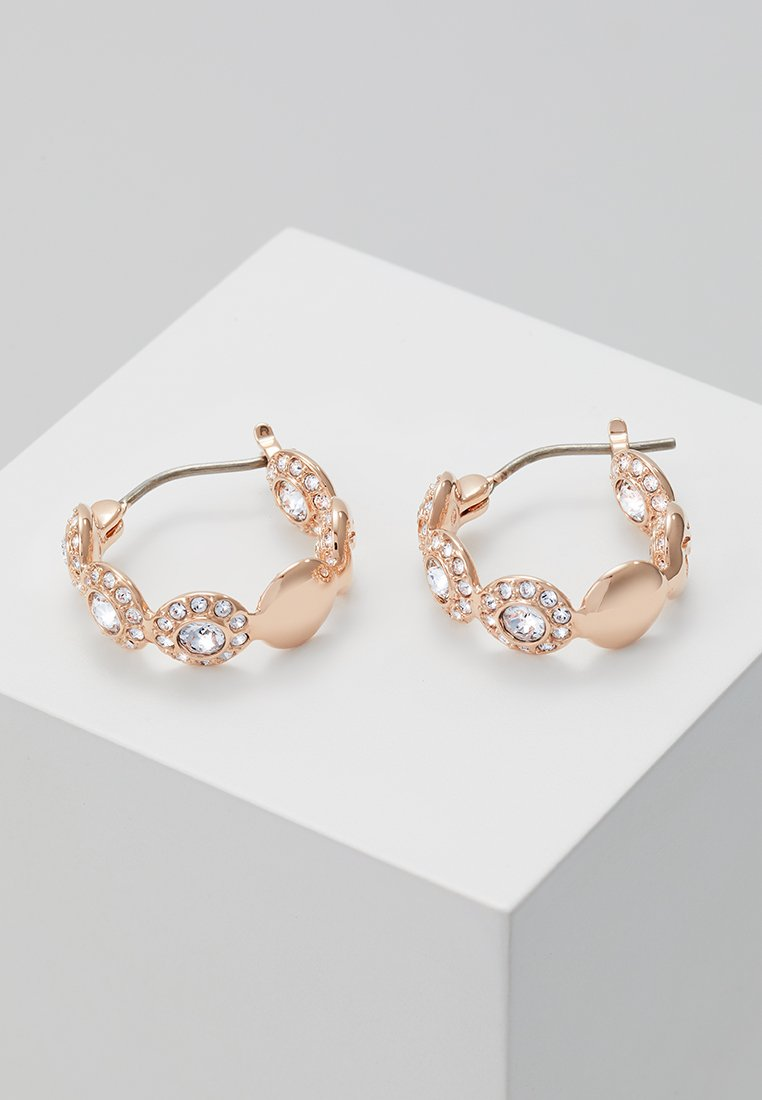 Swarovski - ANGELIC HOOP - Örhänge - rosegold-coloured