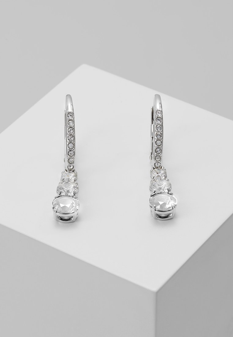 Swarovski - ATTRACT TRILOGY - Earrings - silver-coloured