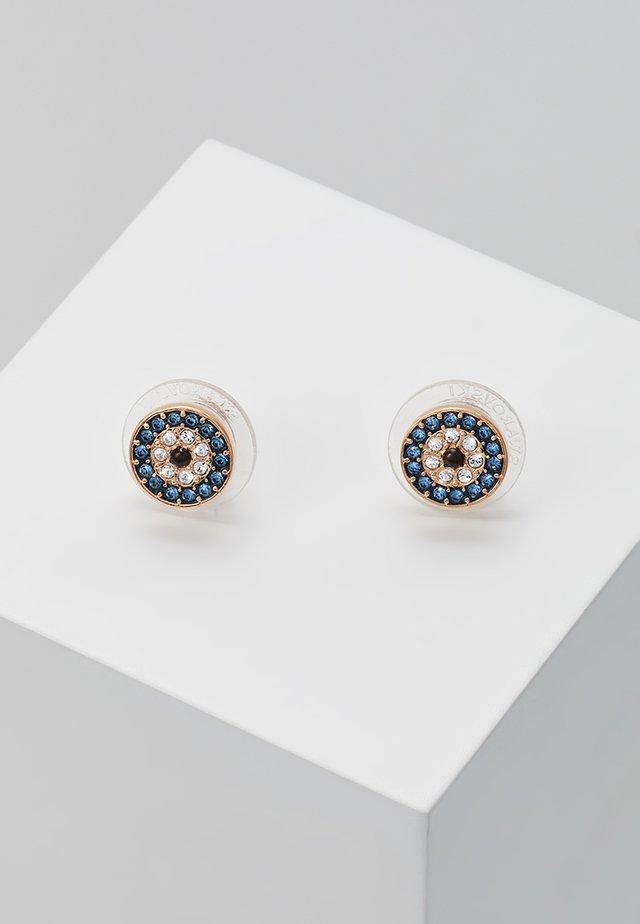 DUO EVIL EYE - Earrings - dark multicolor