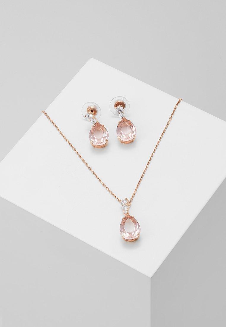 Swarovski - VINTAGE PEAR SET - Earrings - pink