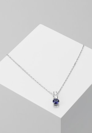 ATTRACT TRILOGY PENDANT - Necklace - sapphire dark