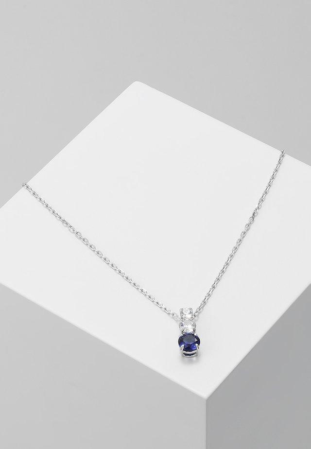 ATTRACT TRILOGY PENDANT - Halskæder - sapphire dark