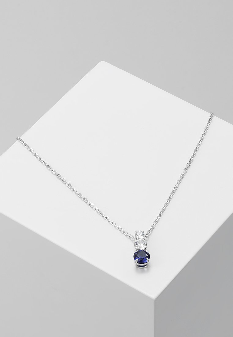Swarovski - ATTRACT TRILOGY PENDANT - Collier - sapphire dark