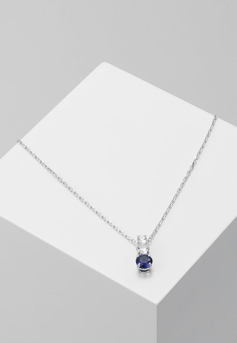 Swarovski - ATTRACT TRILOGY PENDANT - Náhrdelník - sapphire dark
