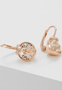 Swarovski - BELLA - Boucles d'oreilles - rose gold-coloured/transparent