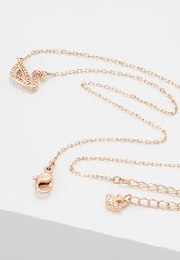 Swarovski - DAZZLING SWAN NECKLACE - Ketting - fancy morganite - 2