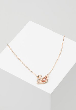 DAZZLING SWAN NECKLACE - Kaulakoru - fancy morganite