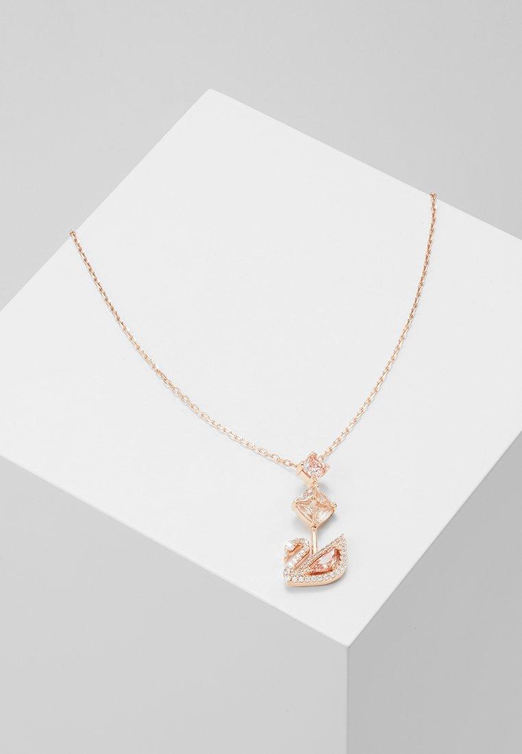 Swarovski - DAZZLING SWAN NECKLACE - Necklace - fancy morganite