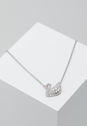 ICONIC SWAN NECKLACE - Collar - white