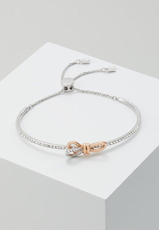 LIFELONG BOW BANGLE - Rannekoru - rosegold-coloured/silver-coloured