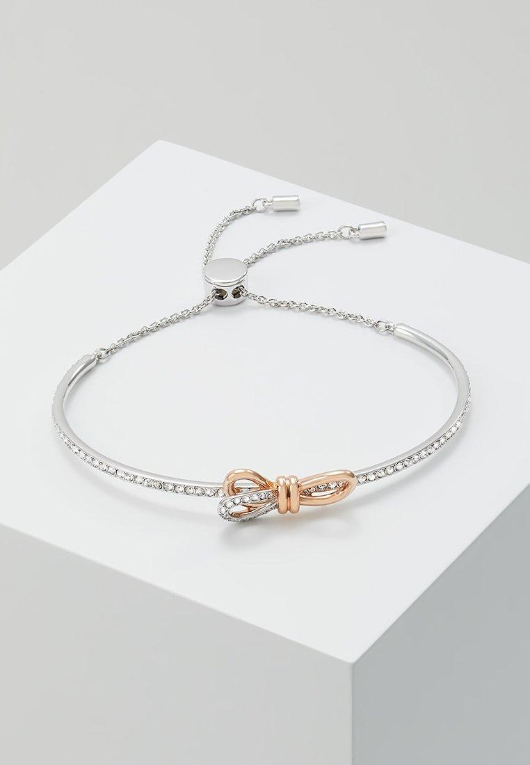 Swarovski - LIFELONG BOW BANGLE - Armband - rosegold-coloured/silver-coloured
