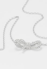 Swarovski - LIFELONG BOW NECKLACE - Náhrdelník - silver-coloured - 5
