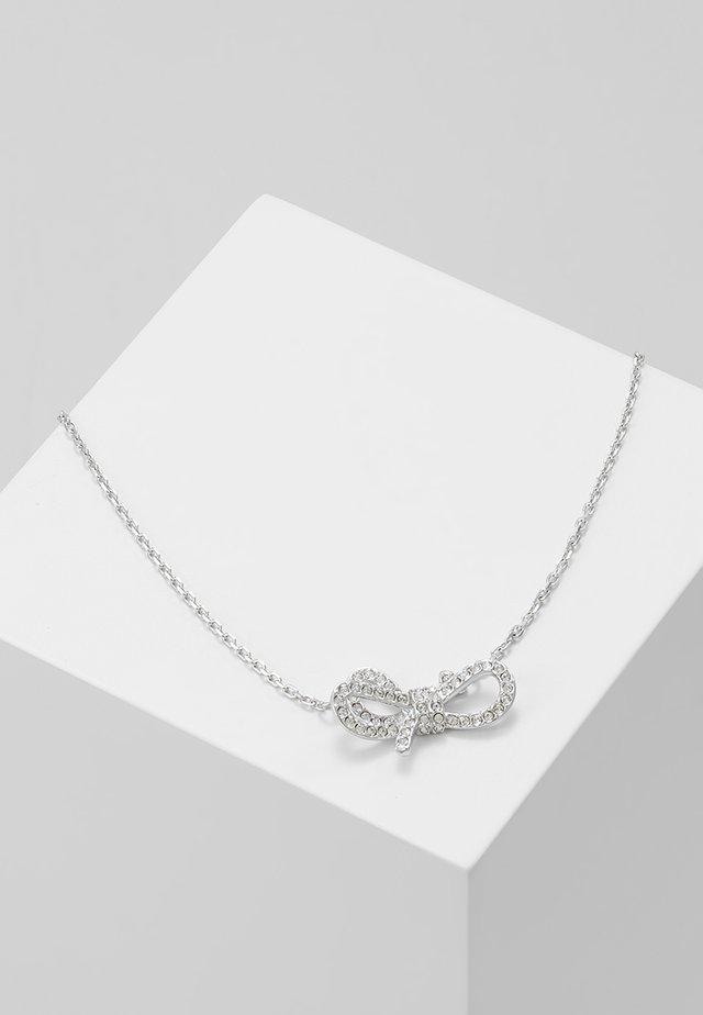 LIFELONG BOW NECKLACE - Kaulakoru - silver-coloured