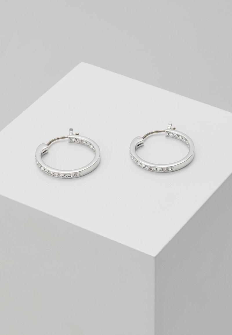 Swarovski - SOMMERSET HOOP CRY - Earrings - silver-coloured