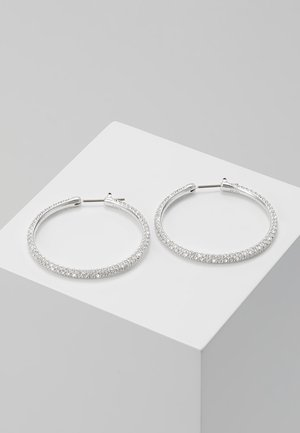HOOP - Boucles d'oreilles - silver-coloured