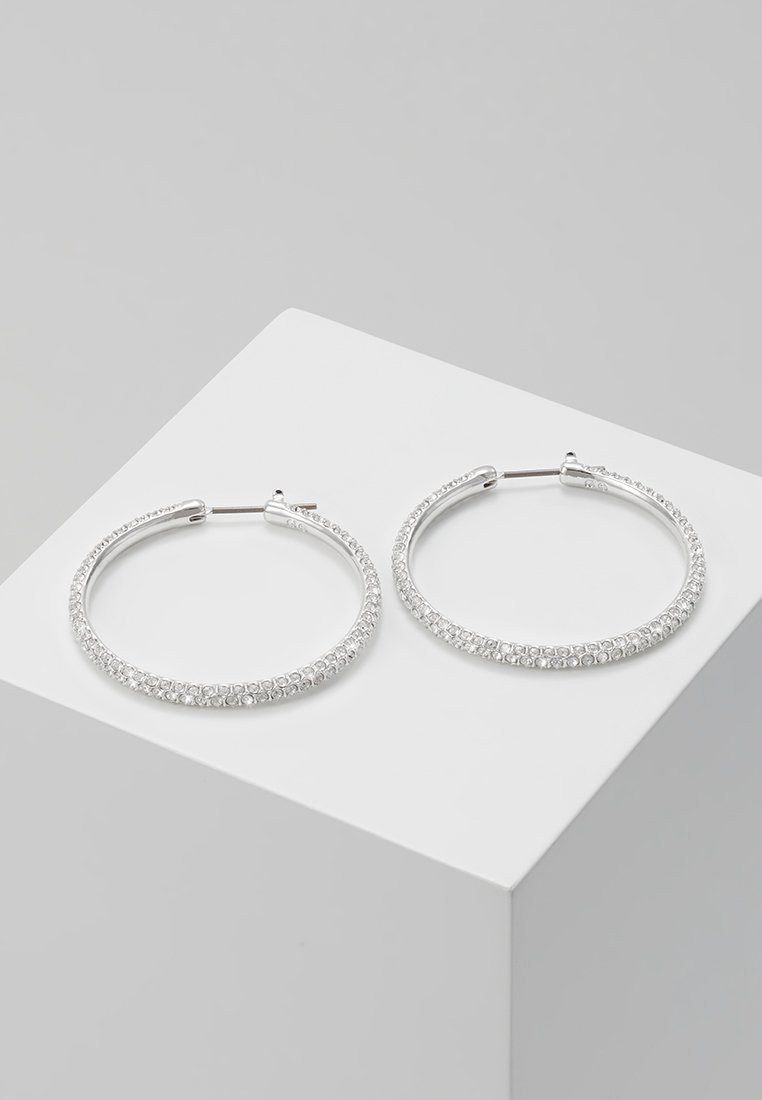Swarovski - HOOP - Øreringe - silver-coloured