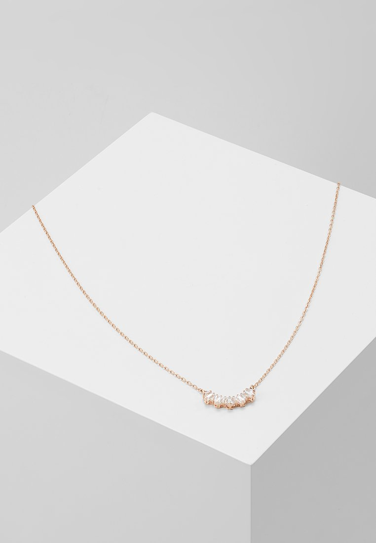 Swarovski - SUNSHINE NECKLACE - Necklace - rose gold-coloured/transparent