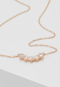 Swarovski - SUNSHINE NECKLACE - Necklace - rose gold-coloured/transparent - 5