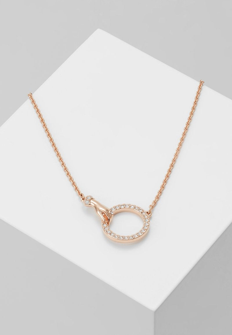 Swarovski - SYMBOL NECKLACE HAND - Halskæder - rose gold-coloured