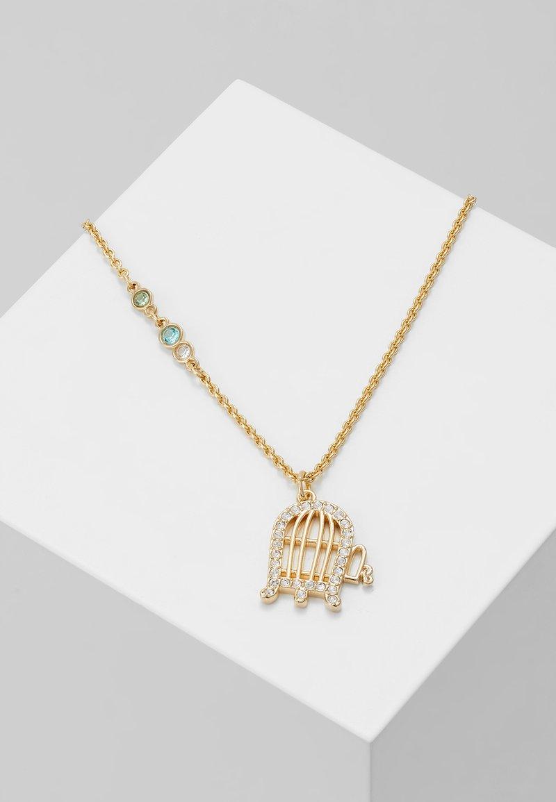 Swarovski - LOONEY TUNES PENDANT CAGE - Necklace - gold-coloured