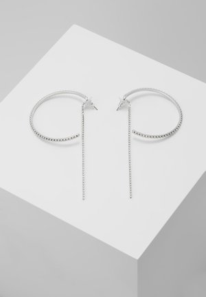 FIT HOOP LARGE - Earrings - crystal