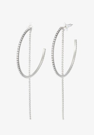 FIT HOOP LARGE - Boucles d'oreilles - crystal