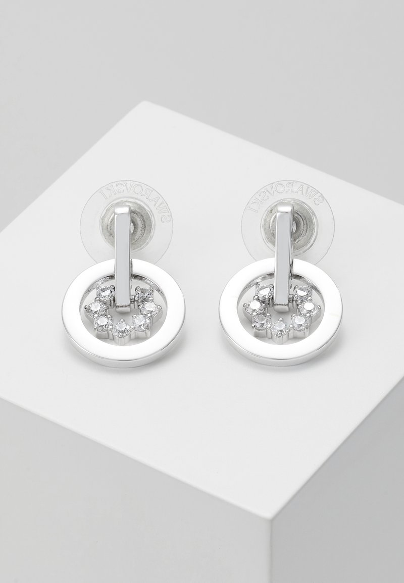 Swarovski - FURTHER DROP CIRCLE - Pendientes - crystal